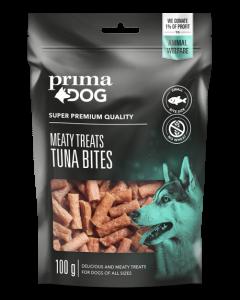 PrimaDog Meaty Treats Tunfiskebidder, 100 g.$