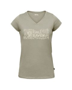 Fjällräven Logo Stamp T-Shirt Woman