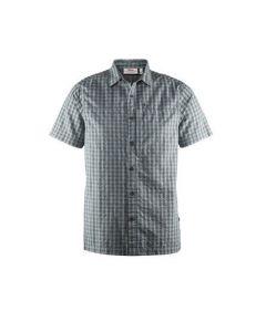 Fjällräven Svante Seersucker skjorte s/s