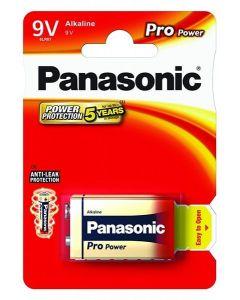 Batteri 9V Alkaline Panasonic