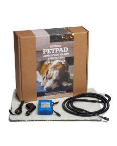 PetPad Varmetæppe, Inkl. batteri og lader