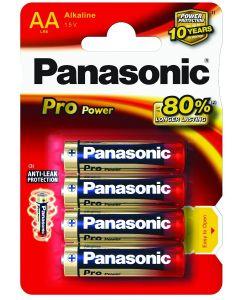 Batteri AA Alkaline Pro Panasonic