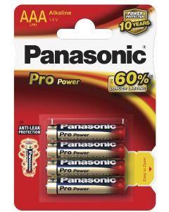 Batteri AAA Alkaline Pro Panasonic