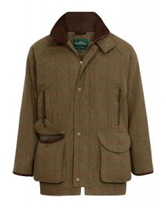 Allan Paine Combrook Tweed Skydejakke, Waterproof