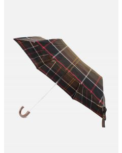 Barbour Tartan mini paraply