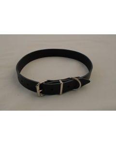 BLF Halsrem i sort Læder, 25mm x 45cm