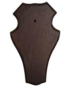 Bukkeplade 19x12, Mørkt træ
