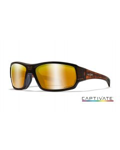 Wiley X Breach Captivate, Bronze Mirror Hickory