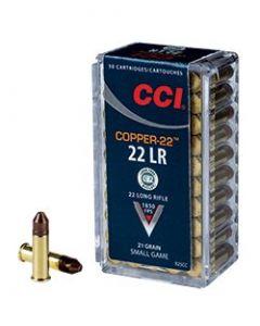 CCI 22lr Copper 21gr Blyfri, 50 stk