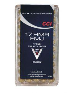 CCI FMJ 17Hmr 20gr 50 stk