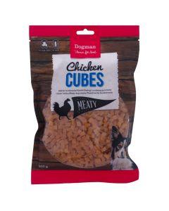 Dogman Chicken Cubes, 300gr.