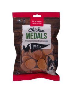 Dogman Chicken Medals, 300gr.