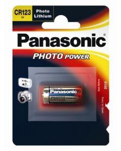Batteri CR123 Lithium Panasonic