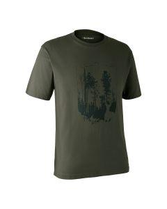 Deerhunter T-shirt m/skjold