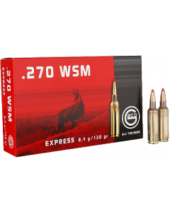 Geco Express .270 WSM 8,4g, 20 stk