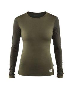 Fjällräven Keb Wool T-shirt LS, Dame