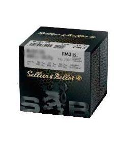 Sellier & Bellot FMJ 6,5x55 8,0g, 50 stk
