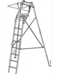 Decoy Skydestige Foldbar M/Bagben