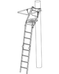 Decoy Skydestige, Foldbar