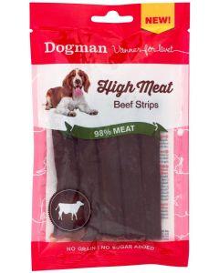 Dogman High Meat Beef Strips, 70 gram