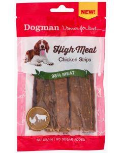 Dogman High Meat Chicken Strips, 70 gram