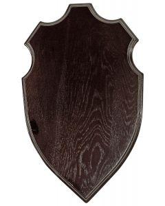 Hjorteplade 40x24, Mørkt træ