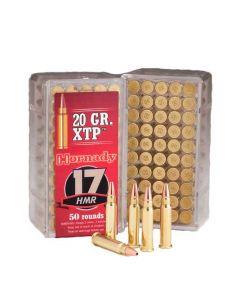 Hornady 17HMR XTP/HP 20gr, 50 stk