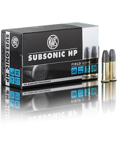 RWS 22LR Subsonic Hollowpoint 40gr, 50 stk