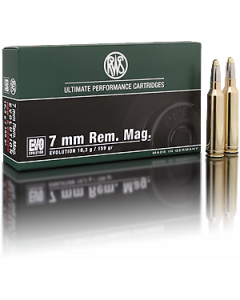 RWS Evolution 7mm Rem. Mag. 10,3g, 20 stk