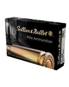 Sellier & Bellot FMJ 7X64 9,1g, 20 stk