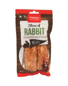 Dogman Slices of Rabbit, 80 gram