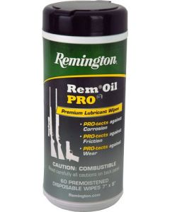 Remington RemOil Pro Wipes, 60stk.