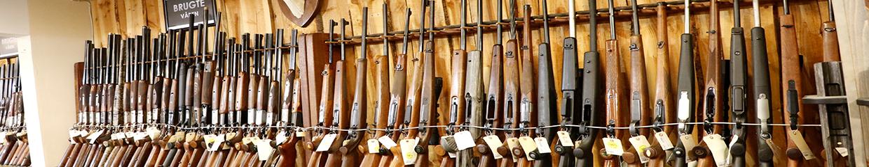 Brugte våben Hubertushuset